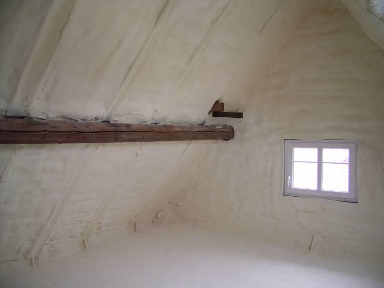 Isolation des combles et rampants de toiture
