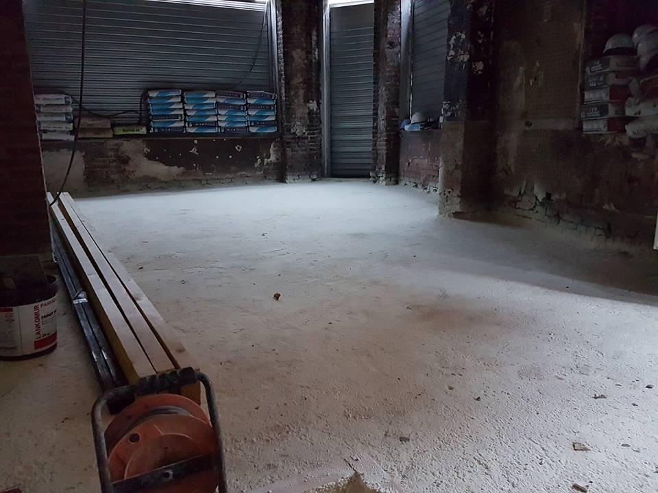 Isolation de plancher voûté à Lille - rénovation