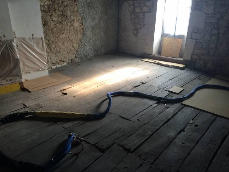 Réhabilitation polyuréthane en Charente