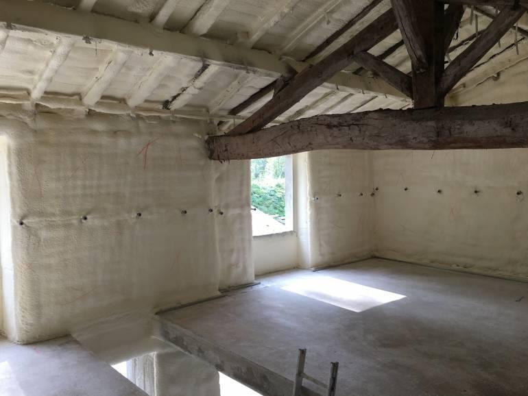Rénover une grange en Charente