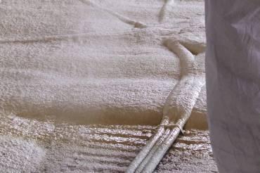 Isolation des sols en mousse expansée