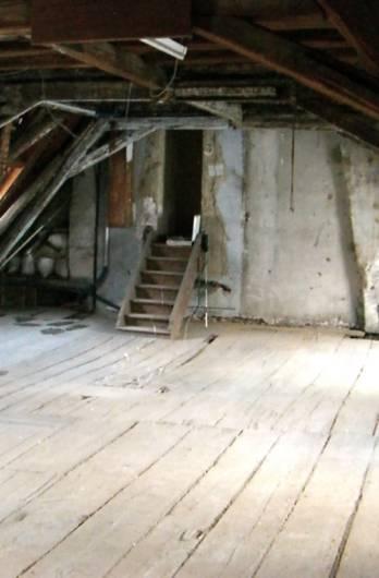 Isolation d'un plancher en bois